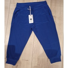 Travel capri broek Kobaltblauw