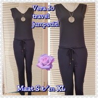 Jumpsuit Vera Jo Blauw